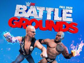 WWE 2K Battlegrounds Logo