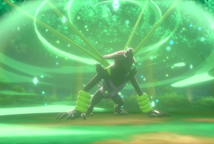 Zarude Jungle Healing Pokémon Sword And Shield Screenshot