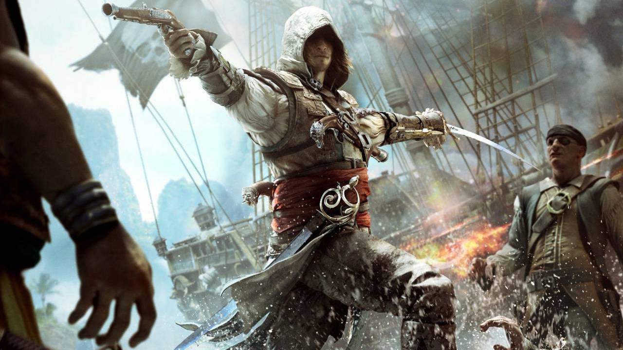 Assassin's Creed IV: Black Flag Key Art
