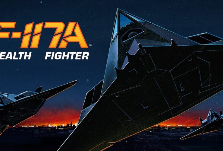F-117A Stealth Fighter Logo
