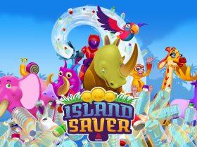 Island Saver Game Logo