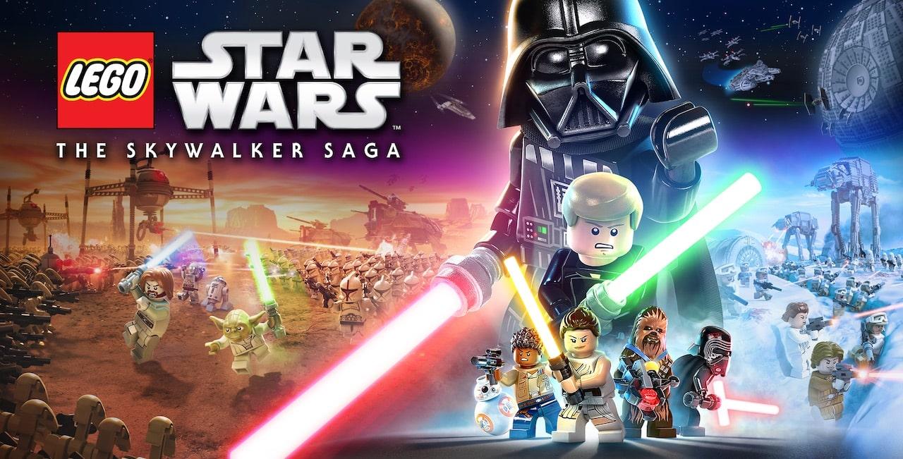 LEGO Star Wars: The Skywalker Saga Key Art