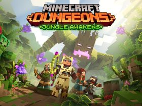 Minecraft Dungeons: Jungle Awakens Logo