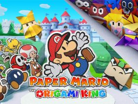 Paper Mario: The Origami King Logo