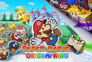 Paper Mario: The Origami King Logo
