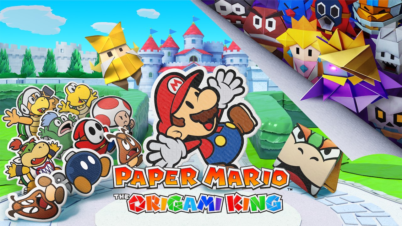 The Origami King Review Score Is In — Famitsu's Paper Mario