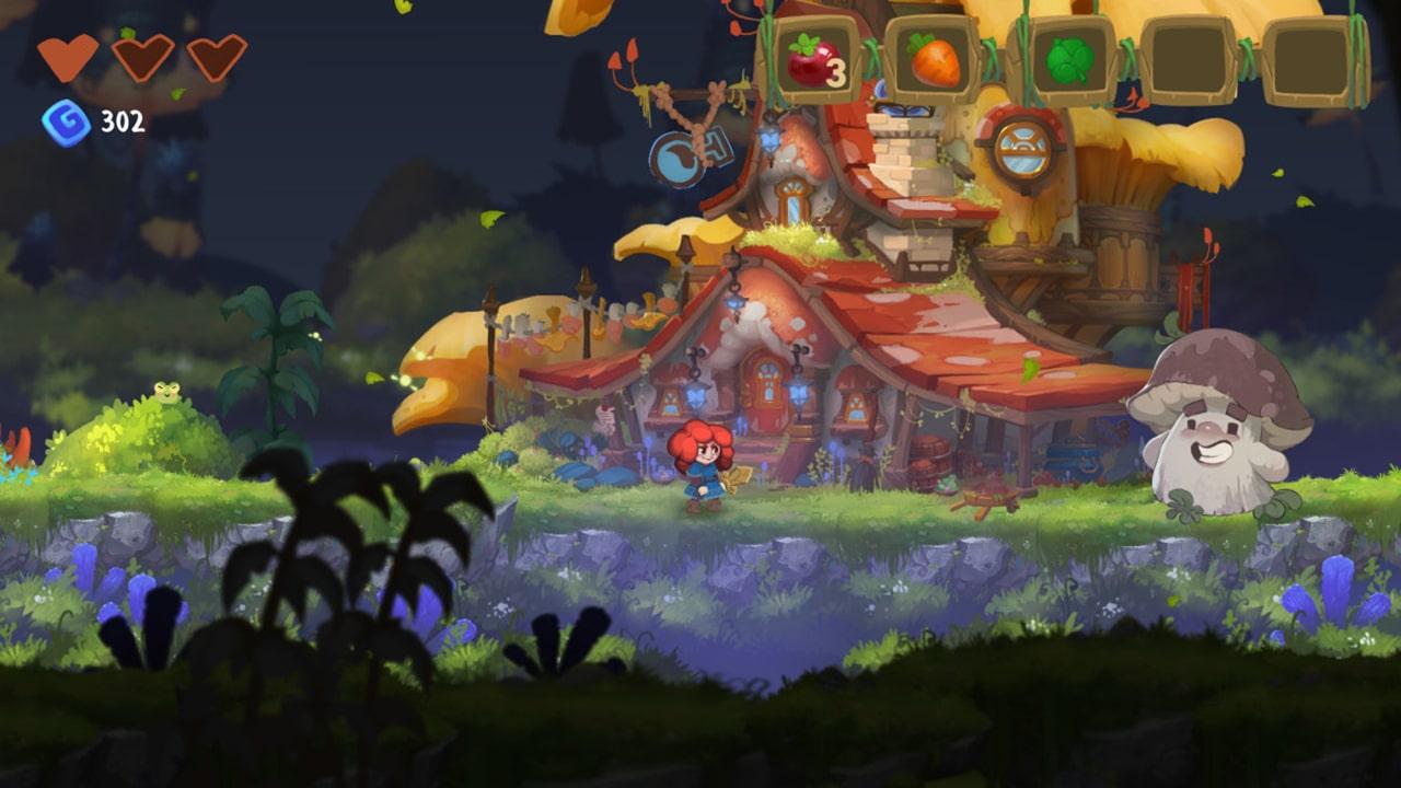 Potata: Fairy Flower Screenshot