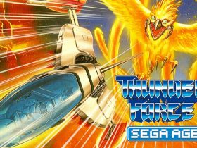 SEGA AGES Thunder Force AC Logo