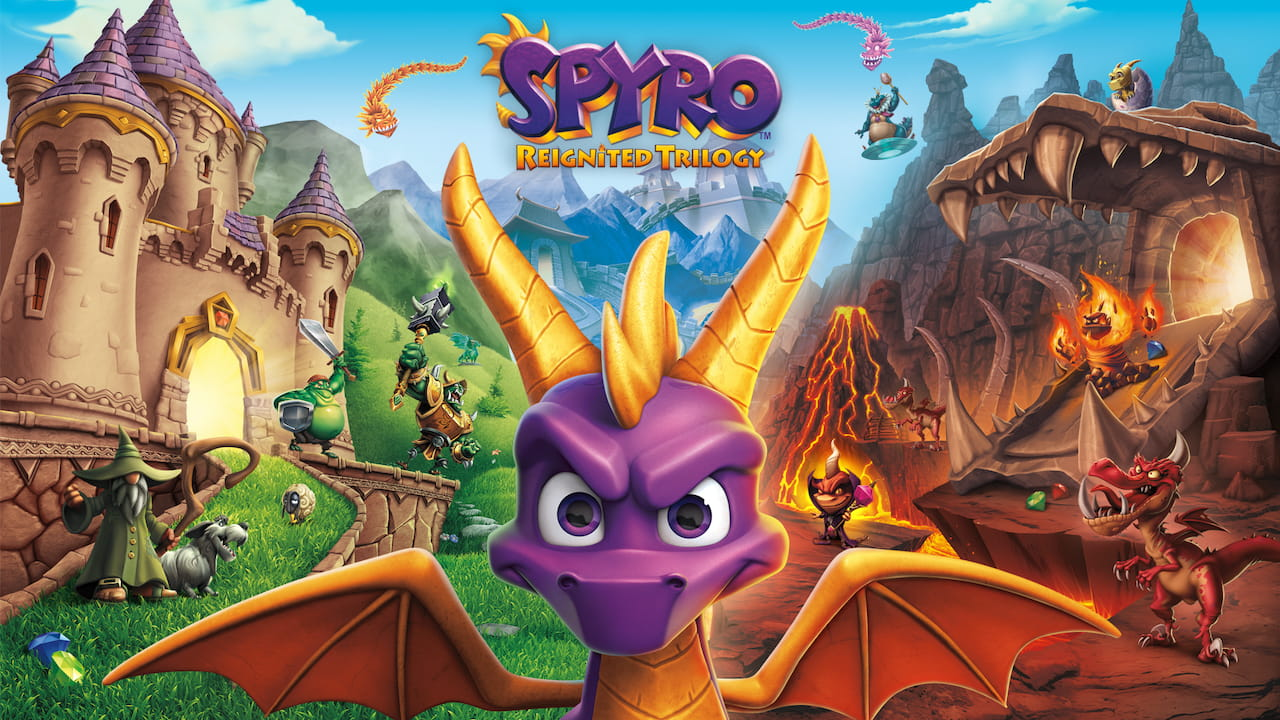 Spyro Reignited Trilogy Review Header