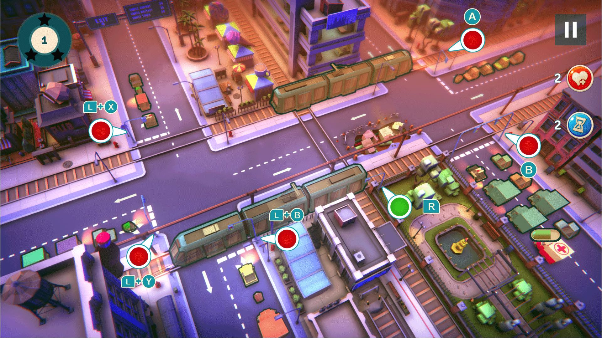 Avoid Traffic Disasters In Urban Flow On Nintendo Switch ...