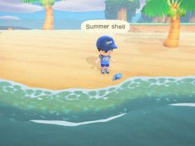 Animal Crossing New Horizons Summer Shell Screenshot