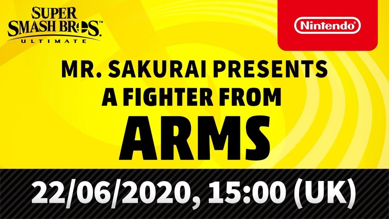 ARMS Super Smash Bros. Ultimate Livestream Image