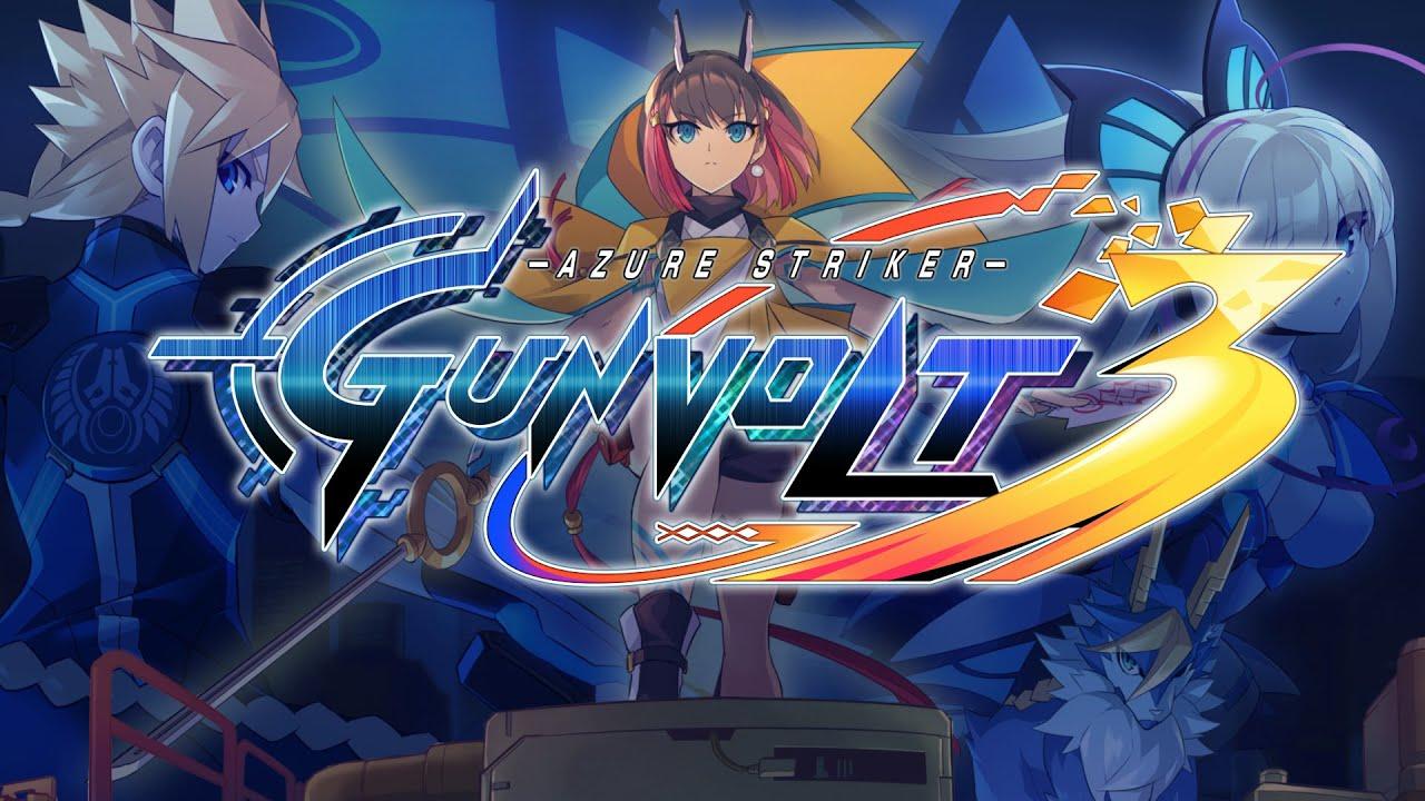 Azure Striker Gunvolt 3 announced for Nintendo Switch, Keiji Inafune also involved