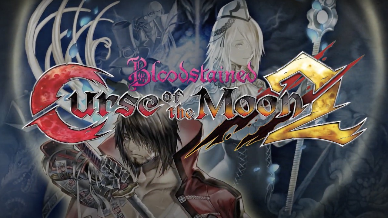 Bloodstained: Curse of the Moon 2 Logo