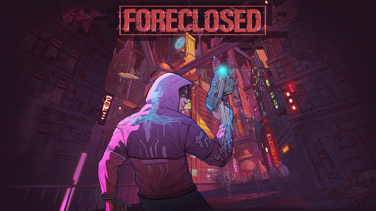 Foreclosed Game Logo