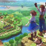 Harvest Moon: One World Artwork