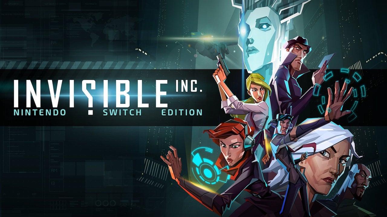 Invisible, Inc. Nintendo Switch Edition Logo