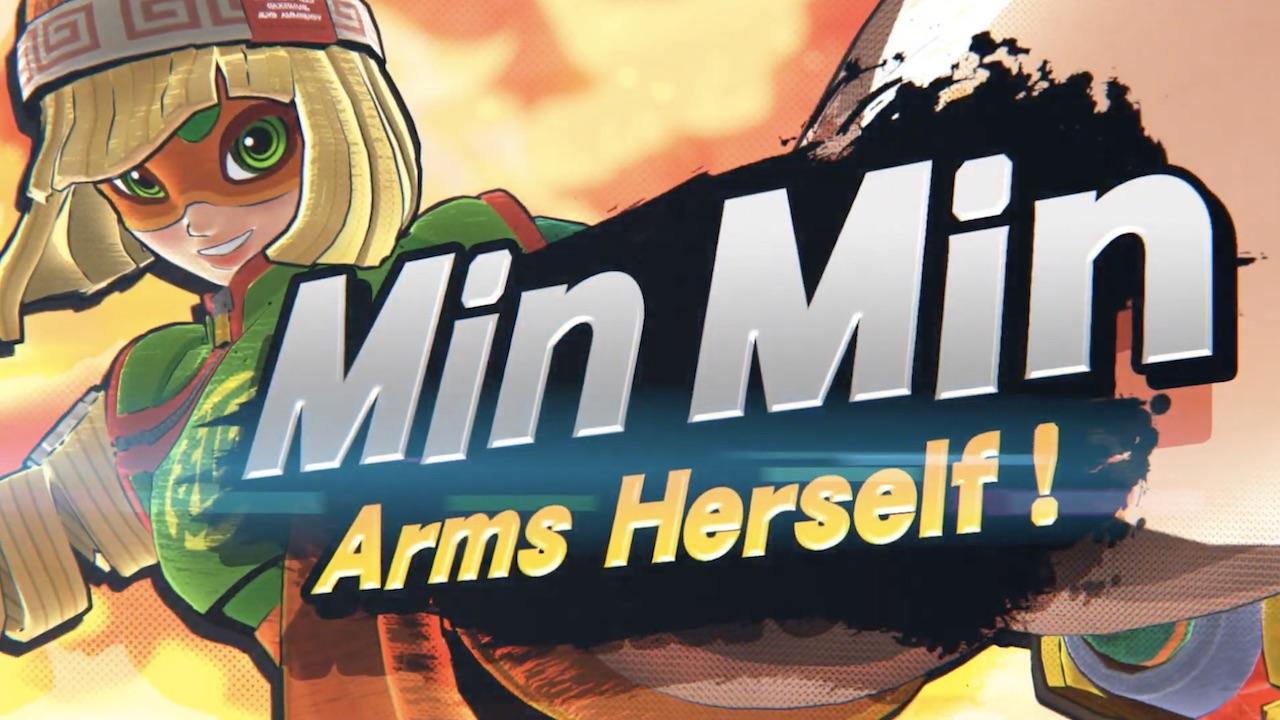 Min Min Arms Super Smash Bros. Ultimate Screenshot