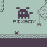 Pixboy Game Logo