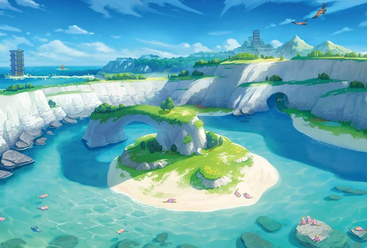 Pokémon Sword And Shield The Isle Of Armor Key Art