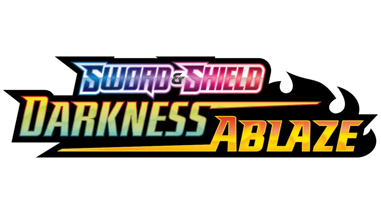 Pokémon TCG: Sword And Shield Darkness Ablaze Logo