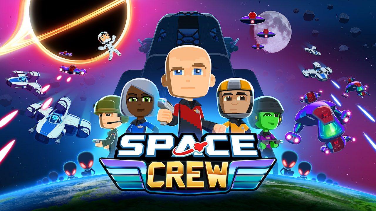Space Crew Logo