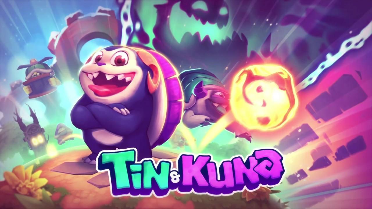 Tin and Kuna Game Logo