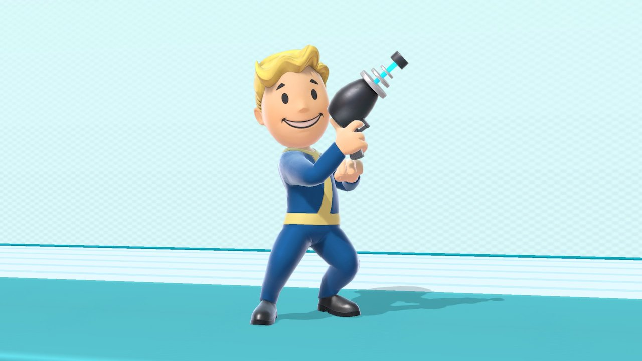Vault Boy Super Smash Bros. Ultimate Screenshot