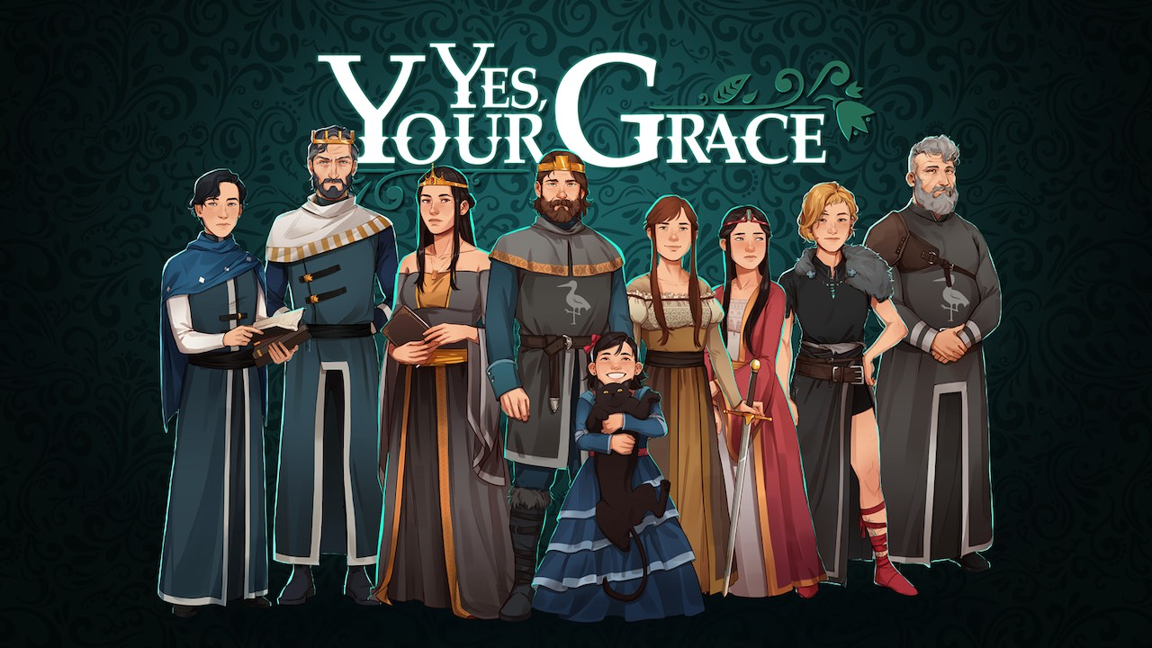 Yes, Your Grace Logo