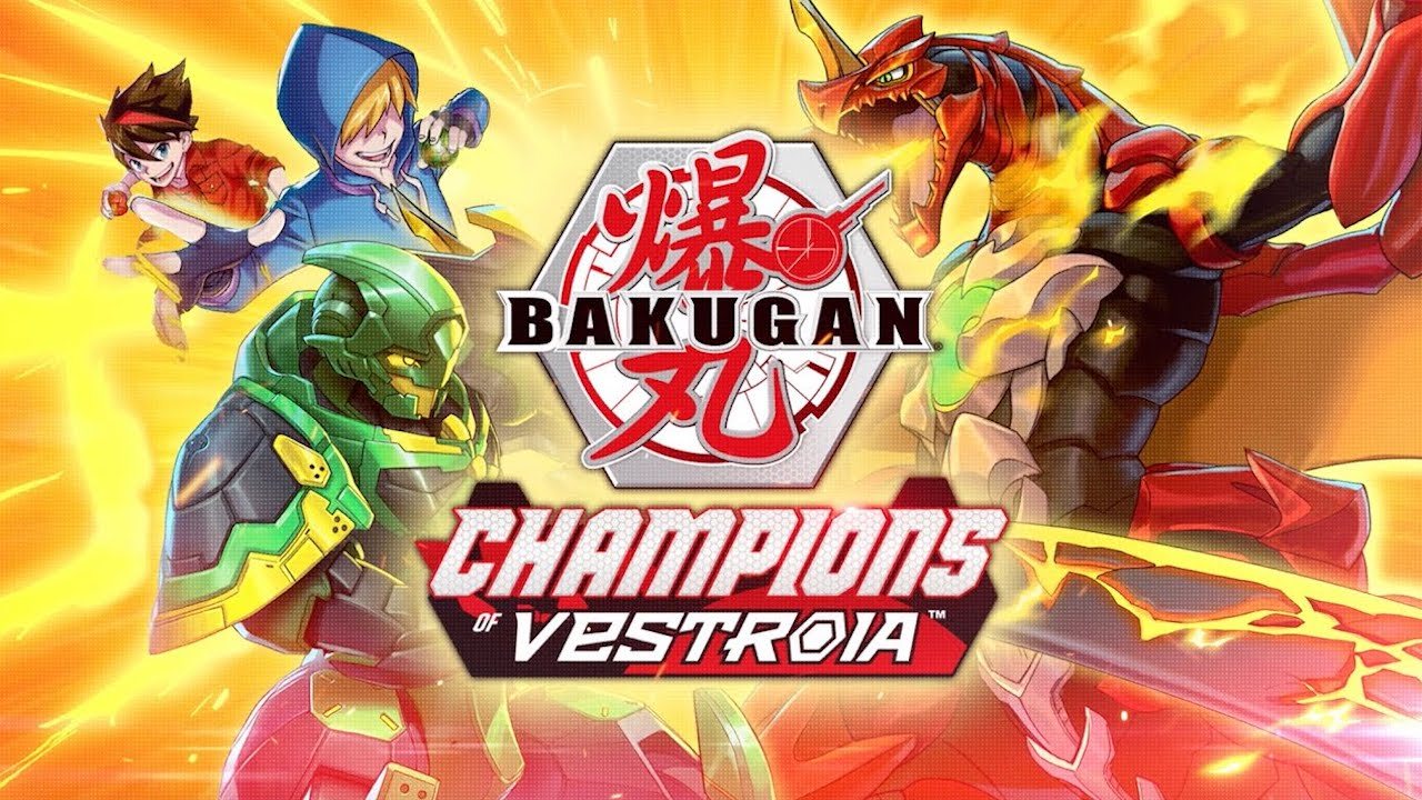 Bakugan: Champions of Vestroia Game Announced for Switch in November