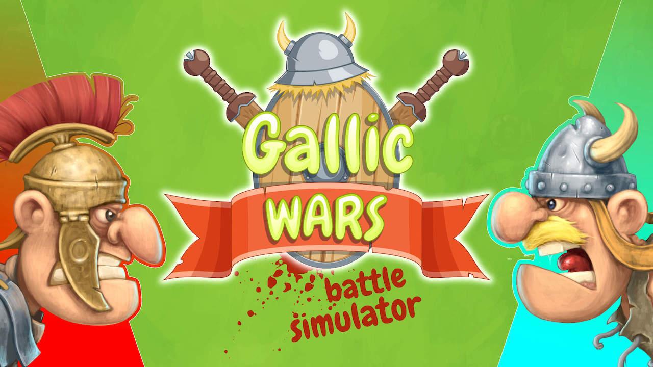 Gallic Wars: Battle Simulator Logo