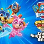 Paw Patrol Mighty Pups Save Adventure Bay Logo