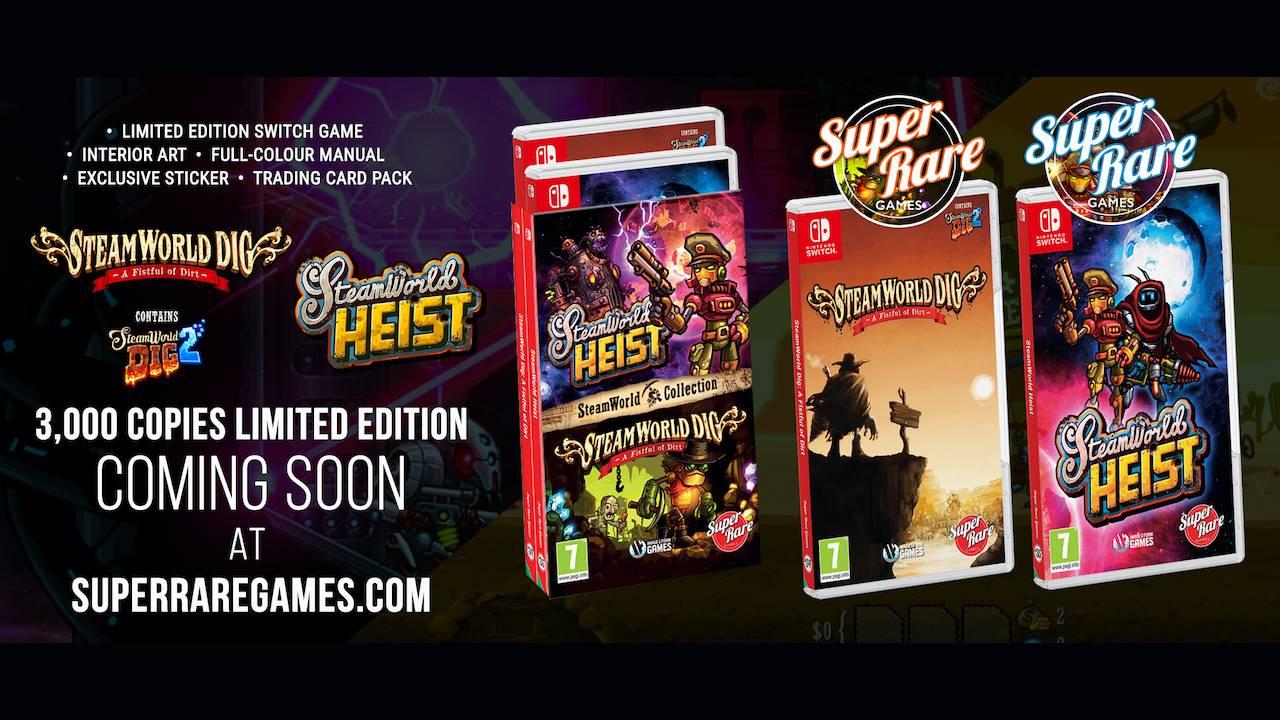 Super Rare Games SteamWorld Photo